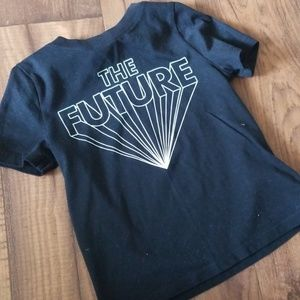 """Old Navy 3T """"The Future"""" Black T-Shirt"""